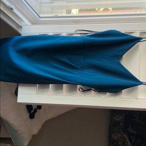 Lulu teal dress